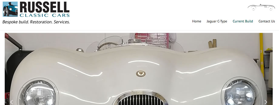 Russell Classic cars - bespoke classic cars built