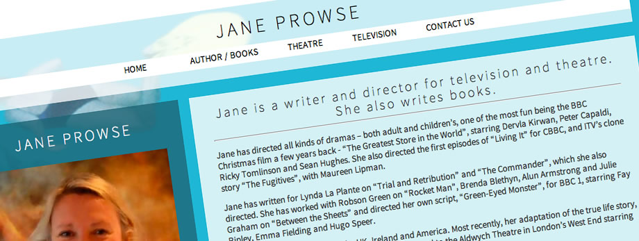 Jane Prowse, Writer and Director